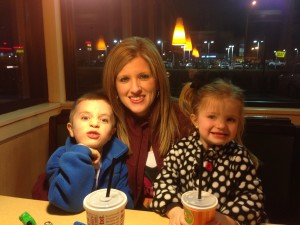 My beautiful wife and 2 youngest