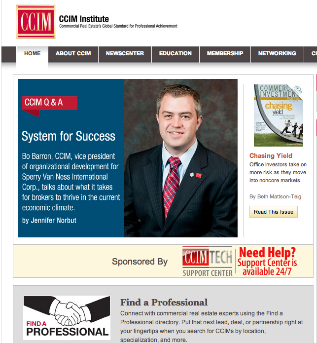 System for Success Article for CIRE