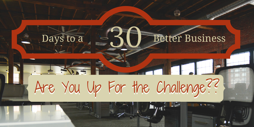 30 days to a better business social image